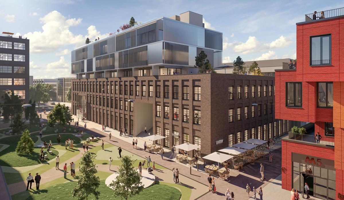 Die Macherei / Gebäude M6 München - TEAM FÜR TECHNIK GmbH